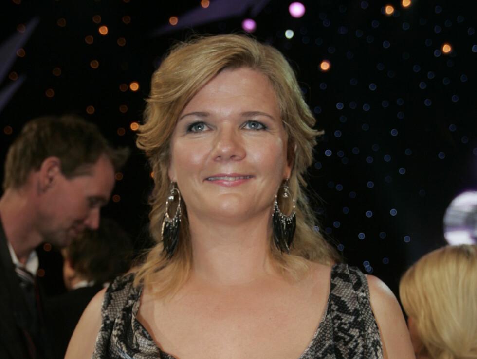 FESTENS DRONNING: Anne Lindmo har fått æren av å lede Spellemannsprisen 2012. - Det blir ikke mange skift. Den kvelden handler ikke om mine kjoler, men feiringen av den norske musikken. , sier hun til Seher.no.  Foto: Stella Pictures