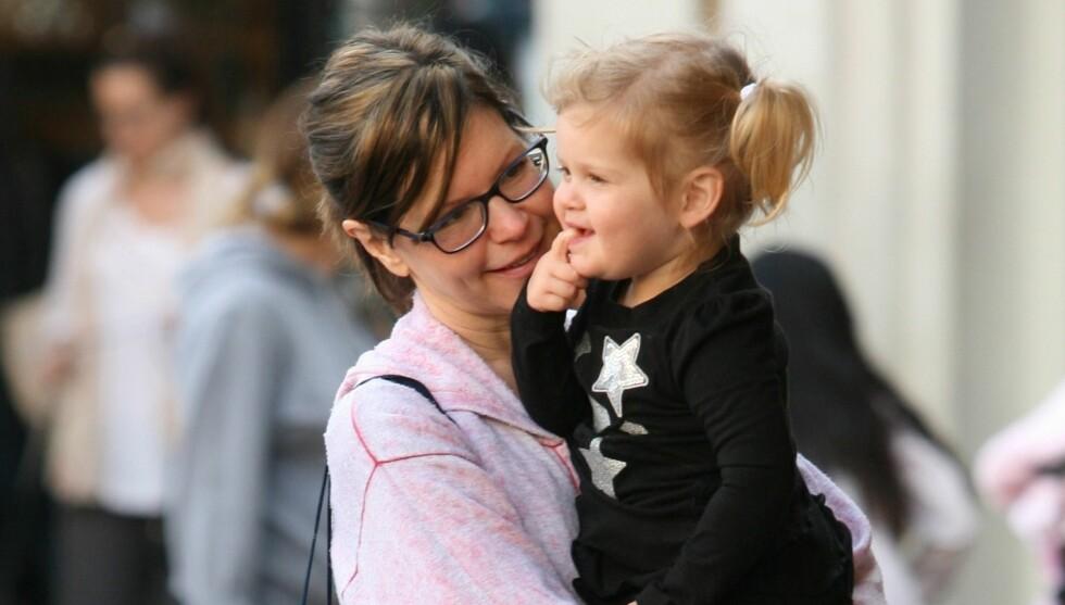 BLIR STORESØSTER: Lyla Rose kom til verden i desember 2009. Nå får hun en søster eller bror. Foto: All Over Press