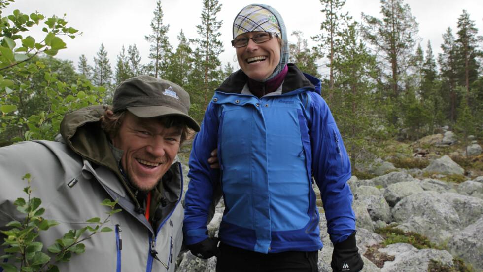 ENSOM: Men Sangro Olestad vil ikke ha noen støttekontakt. Hun er ukomfortabel med tanken på at noen skal få betaling for å være sammen med henne. Foto: NRK
