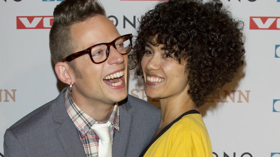 FESTENS BESTE: Ekteparet Lisa og Jarle Bernhoft stjal showet på Spellemannsprisen lørdag. Foto: Stella Pictures