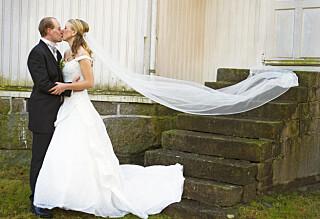 Fant brudekjolen på første forsøk