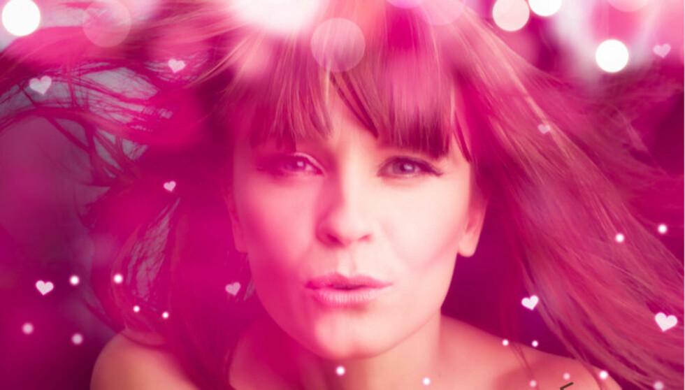 SEXY: Lisa Stokke (36) lover et sexy antrekk til sceneshowet med låta «With Love» i første definale av MGP på Ørlandet.  Foto: Coverfoto, With Love