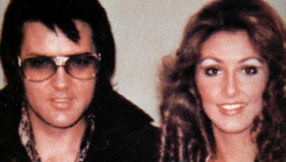 KJÆRESTE MED ELVIS: Linda Thompson var sammen med Elvis Presley i fire år, og bodde sammen med ham på Graceland.  Foto: All Over Press