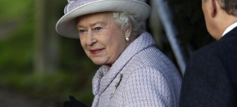 Mystisk likfunn hos dronningen