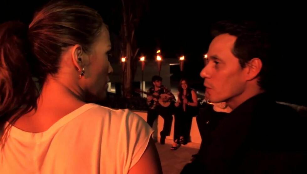 <strong>ISKALDT:</strong> - Marc Anthony oppfører seg som en bedratt mann og forsøker å straffe Jennifer Lopez, hevder en kilde. Foto: Stella Pictures
