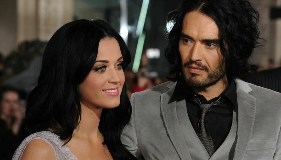 <strong>SATSET PÅ KARRIEREN:</strong> Russell Brand skal ha villet starte en familie, mens Katy Perry heller ville fokusere på popkarrieren. Nå skal de skilles.  Foto: All Over Press