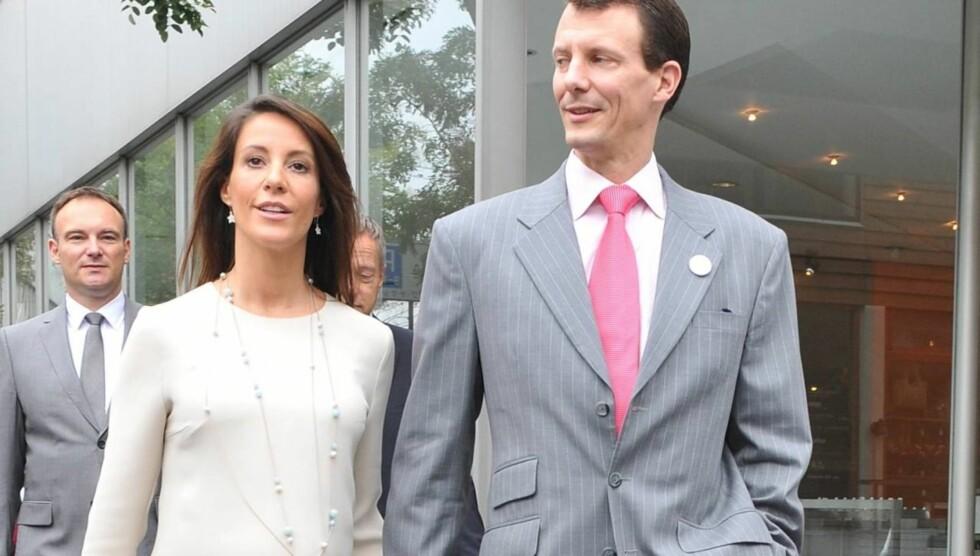 BLIR FORELDRE PÅ NY: Tirsdag kveld ble prinsesse Marie lagt inn på sykehus i København. Nå venter prins Joachim på sitt andre barn.  Foto: All Over Press