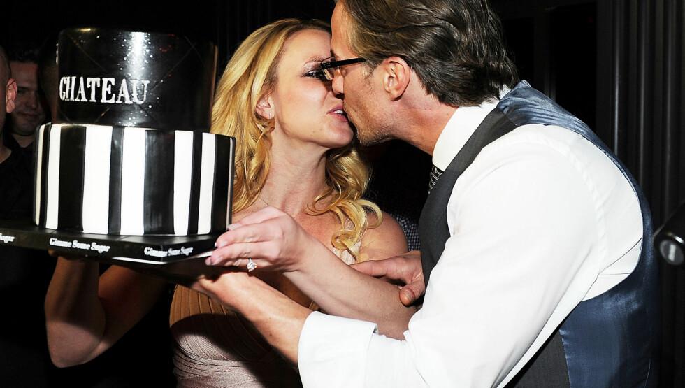 <strong>I LYKKERUS:</strong> Jason Trawick er i lykkerus etter at han fikk ja fra Britney Spears. Foto: All Over Press
