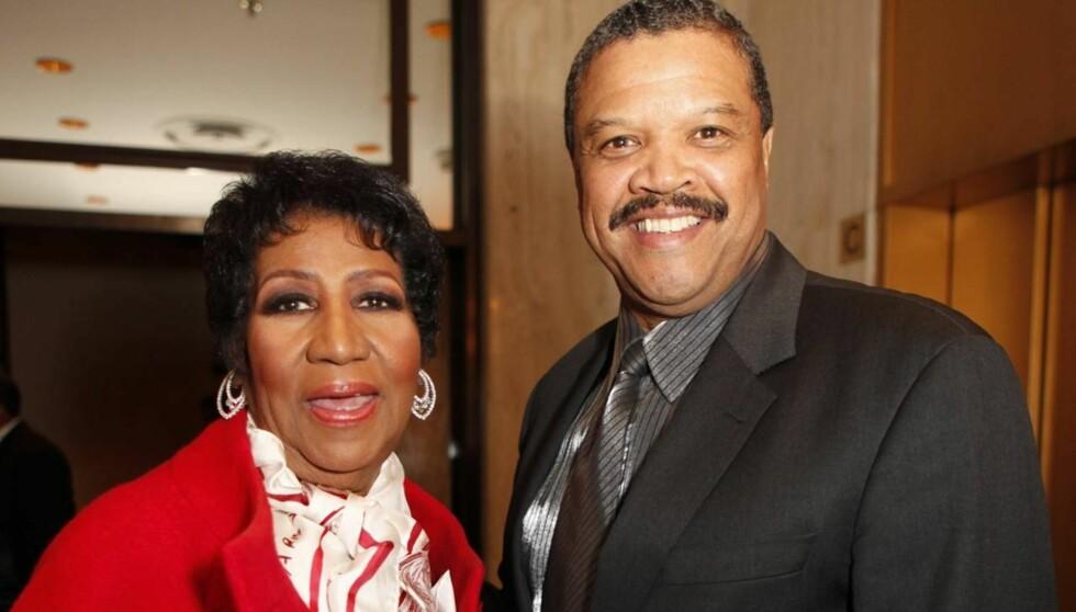 GIFTER SEG: Aretha Franklin sa i julen ja til frieriet fra kjæresten Willie Wilkerson. Foto: All Over Press