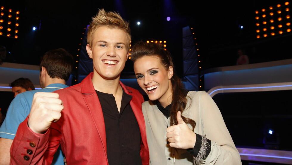 <strong>FINALISTER:</strong> Vegard Leite og Jenny Langlo skal kjempe mot hverandre om å bli Norges nye idol. Foto: Stella Pictures