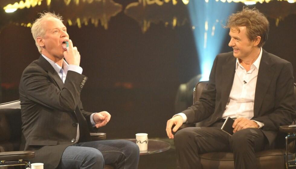 <strong>MOROMANN:</strong> I 2010 var Gustafsson med på Skavlan. Foto: Stella Pictures