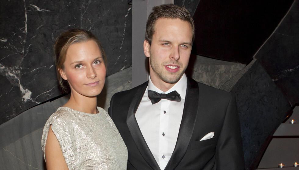 MED KJÆRESTEN: Alexander Dale Oen viste fram kjæresten Anja på Idrettsgallaen tidligere denne måneden. Foto: Stella Pictures