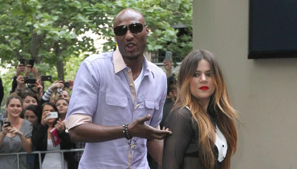 FLYTTER ETTER?: Det spekuleres i om Khloe Kardashian blir med ektemannen til Texas. Foto: All Over Press