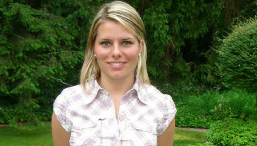 GIFTEKLAR: TV 2s reporter i håndball-VM i brasil, Ida-Marie Vatn, gifter seg neste år.  Foto: TV 2