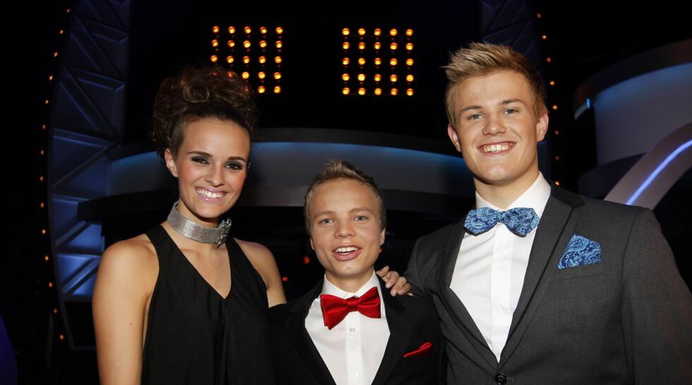 TOPP TRE: Jenny Langlo er siste jente ut i årets Idol, og skal kjempe mot Isak Knutsen Heim og Vegard Leite om å vinne konkurransen. Foto: Stella Pictures