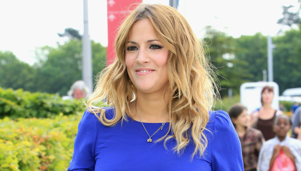 DRAPSTRUES: TV-verten Caroline Flack (32) mottar drapstrusler på grunn av datingen. Foto: All Over Press