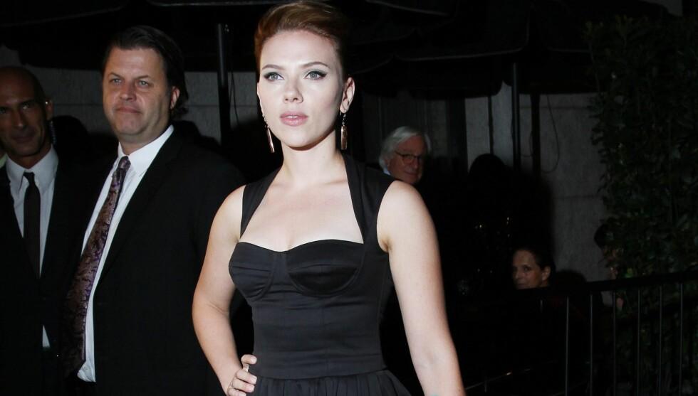 <strong>SPORTY:</strong> Scarlett Johansson drar på treningsstudio når hun vil føle seg bedre, og bruker treningsøktene som terapi.  Foto: All Over Press