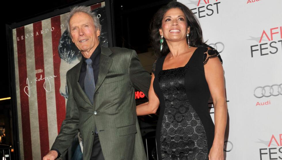 TIL REALITY: Clint Eastwood og kona Dina blir snart realitystjerner.  Foto: All Over Press
