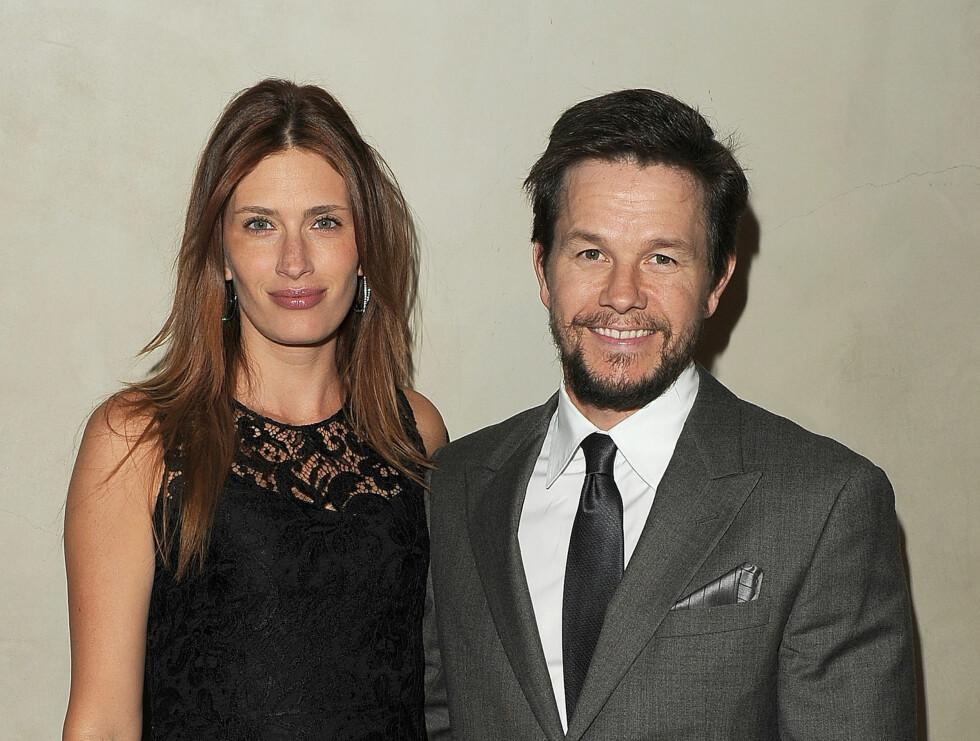 <strong>LYKKELIG FAMILIEMANN:</strong> I 2009 giftet Mark Wahlberg seg med Rhea Durham etter åtte år som kjærester.   Foto: All Over Press