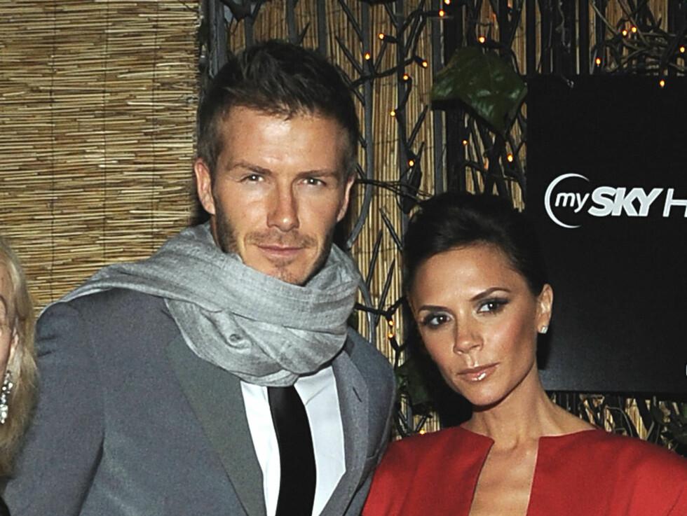 BERØMT PAR: David og Victoria Beckham er kjent som store navn verden over.  Foto: Stella Pictures