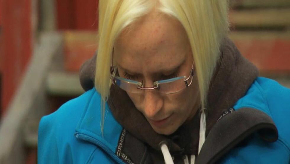 <strong>TRIST:</strong> Bente Fremo mistet moren i en bilulykke bare 14 år gammel. Foto: TV 2