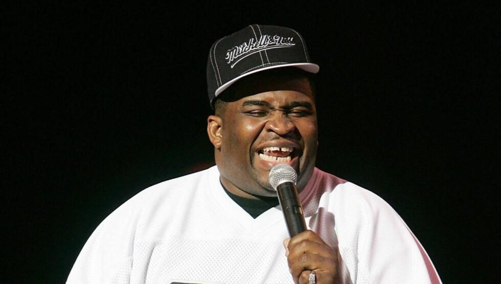 <strong>DØD:</strong> Komiker Patrice O'Neal døde som følge av komplikasjoner etter slaget han pådro seg forrige måned.  Foto: All Over Press