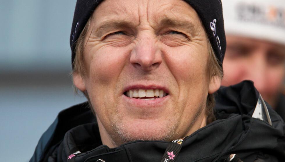 NRK-KLAR: - Det var Per som hjalp meg ut av Grand Prix-skapet denne gangen. Vi har snakket om konkurransen flere ganger, og han har bestandig visst at jeg er tilhenger av konseptet, mener Jan Åge Fjørtoft, som skal lede de nye forprogrammene i MGP. Foto: Stella Pictures