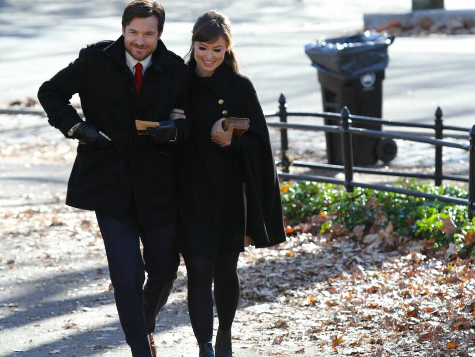 <strong>CENTRAL PARK:</strong> De to så ut som et hvilket som helst forelsket par på tur i den populære New York-parken. Foto: Stella Pictures