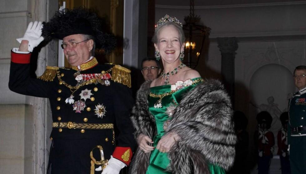 <strong>SKAL FEIRES:</strong> Dronning Margrethe skal feires i tre dager til ende for å markere hennes 40-årsjubileum som dronning av Danmark i januar 2012. Foto: All Over Press