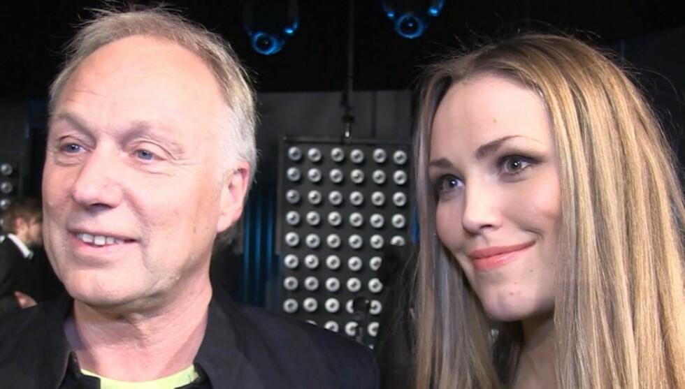 <strong>TOLKET HVERANDRE:</strong> Øystein Dolmen og Elvira Nikolaisen har tolket hverandres låter i det nye TV2-programmet «Hver gang vi møtes». Foto: Lina Hekkli/Seher.no