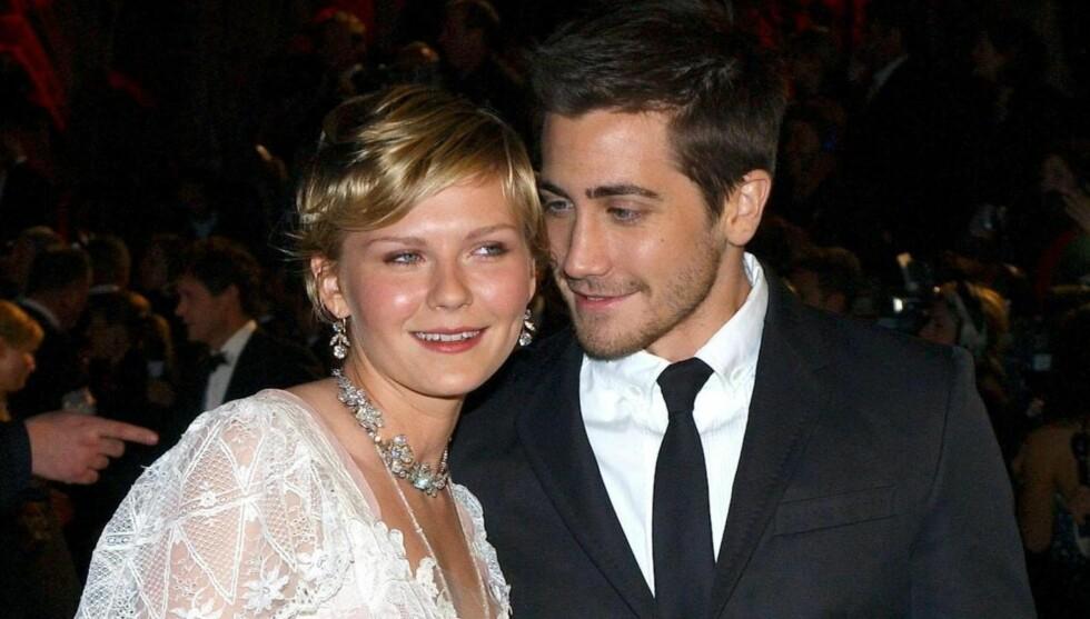 EKSER: Kirsten Dunst og Jake Gyllenhaal var sammen fra 2002 til 2004. Foto: Stella Pictures