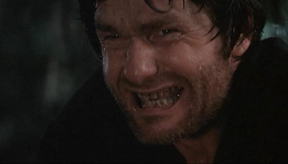 KJENT SCENE: McKinney var den slemme fjellmannen som ba ofrene sine om å «squeal like a pig». Filmen var fra 1972. Foto: Deliverance