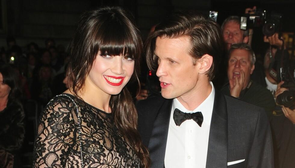 IKKE TID: Daisy og Matt Smith hadde ikke tid til hverandre. Nå er venner av det tidligere paret overrasket over bruddet. Foto: All Over Press