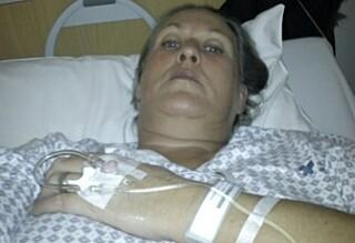 «Charter»-Lisbeth innlagt på sykehus