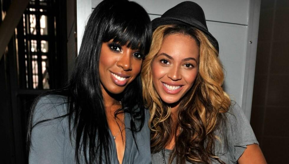 <strong>VOPS:</strong> Venninnen Kelly Rowland forsnakket seg, og bekrefter at Beyoncé og Jay-Z venter en datter. Foto: All Over Press