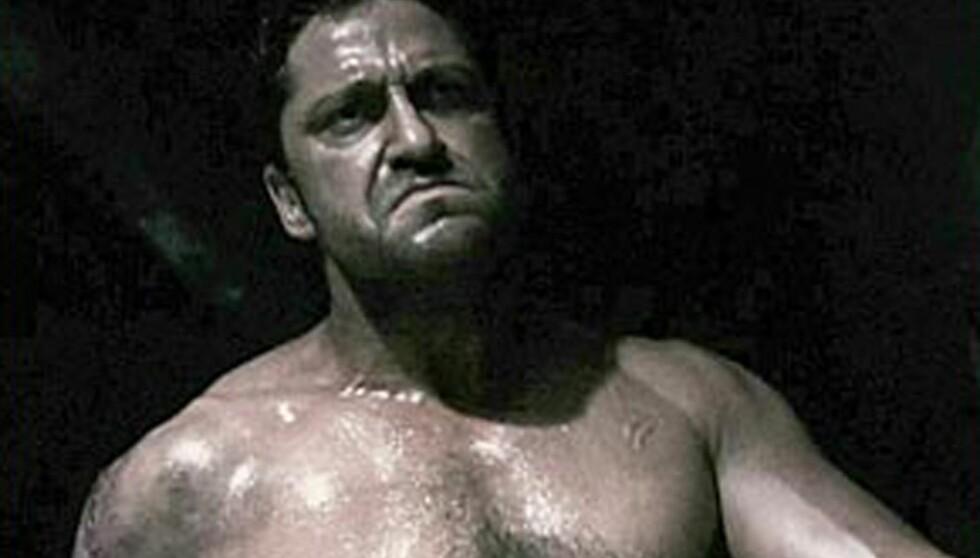 <strong>FØR:</strong> For et par år siden var Gerard Butler stinn av muskler.  Foto: Stella Pictures