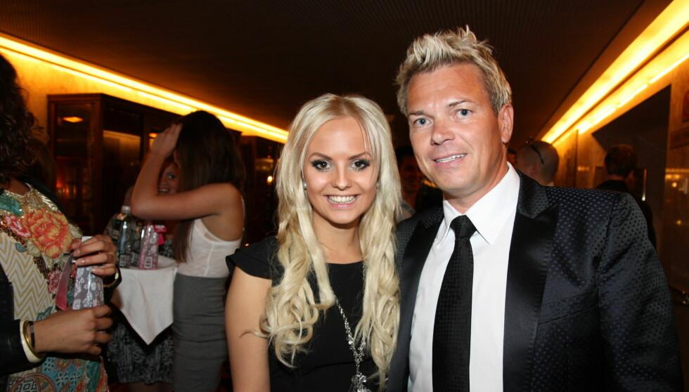 GIFTER SEG: Lars Ole Johansen, som her er avbildet sammen med sin eks-kjæreste, Camilla Fors, har forlovet seg. Foto: Sølve Hindhamar, Seher.no