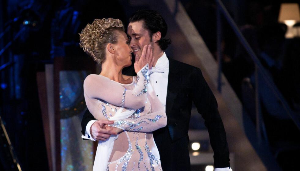 IMPONERER: Kari Traa og dansepartneren Egor Filipenko har gjort det svært godt i årets «Skal vi danse» på TV 2, og er sikret en topp tre-plassering. Foto: Stella Pictures