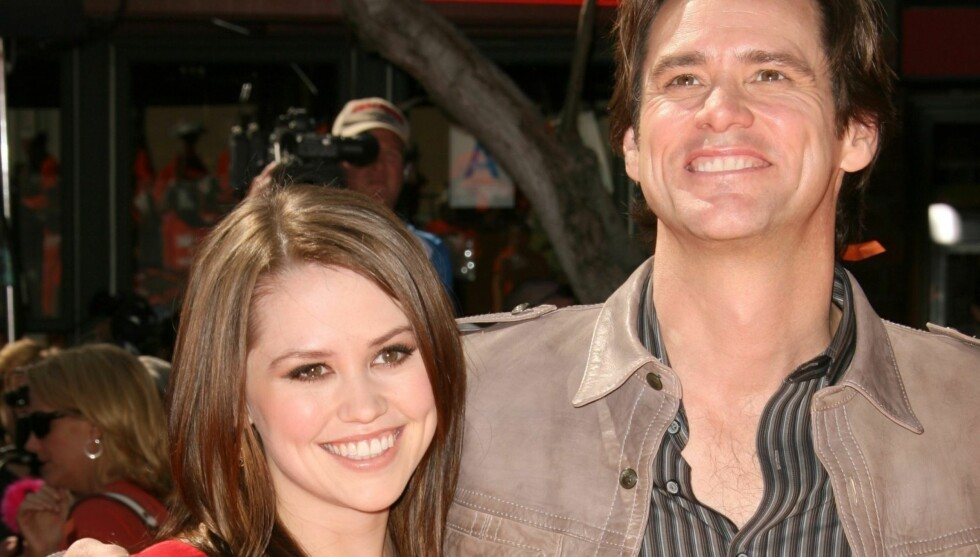 FAR OG DATTER: Jane Carrey er datteren til skuespillerstjernen Jim Carrey. Foto: Stella Pictures