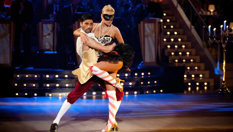 RYKER?: Bettingselskapet spår at Noman og Nadya ryker under kveldens «Skal vi Danse»-sending. Foto: Stella Pictures