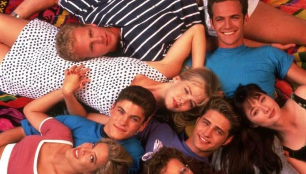 <strong>90-TALLS STJERNE:</strong> Shannen Doherty ble kjent over hele verden gjennom sin rolle som «Brenda» i 90-talls serien «Beverly Hills 90210». Foto: Stella Pictures