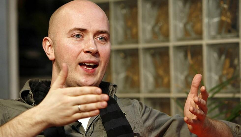 BLE FRASTJÅLET DATAMASKINEN: Mens Terje Sporsem lørdag jobbet som konferansier på Royal Christiania Hotel i Oslo, brøt en tyv seg inn i garderoben hans. Foto: Per Ervland, Seher.no