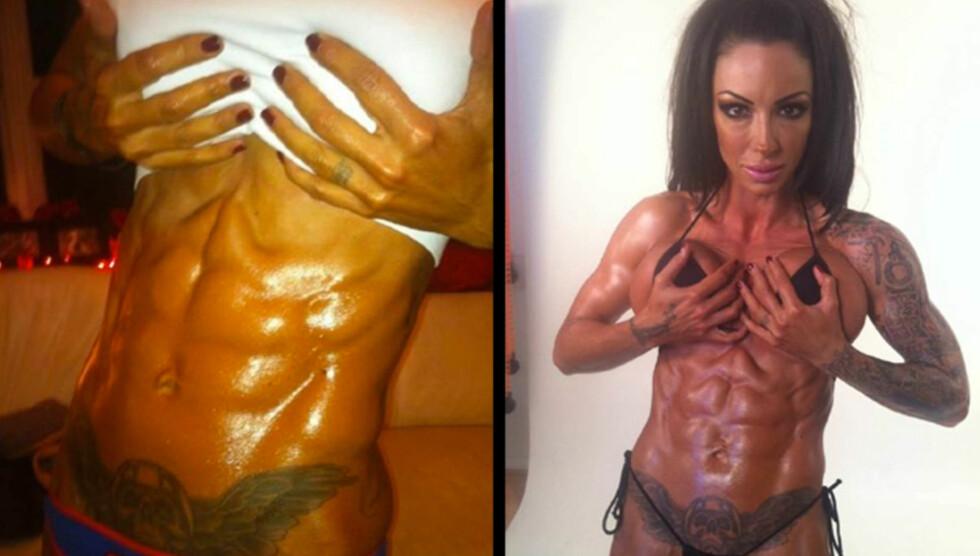 MISUNNELIGE: TV-stjernen og glamourmodellen hevder alle kvinner er misunnelige på kroppen hennes. Foto: All Over Press
