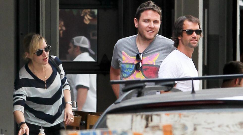 NYTT PAR: Kate og Ned (med solbriller) har vært sammen i en måned.