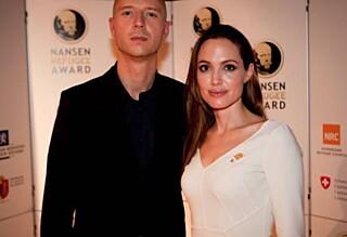 Sivert Høyem på jobb med Angelina