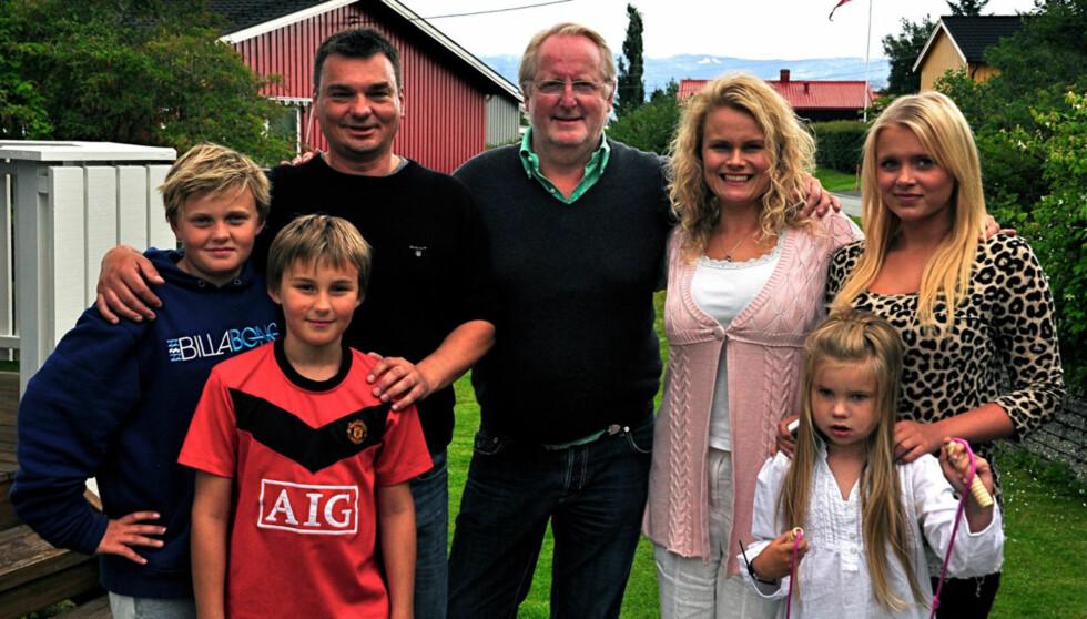 GIFTET SEG: Kenneth Jansson og kona Elisabeth giftet seg tre dager før Hellstøm dukket opp. Foto: TV3