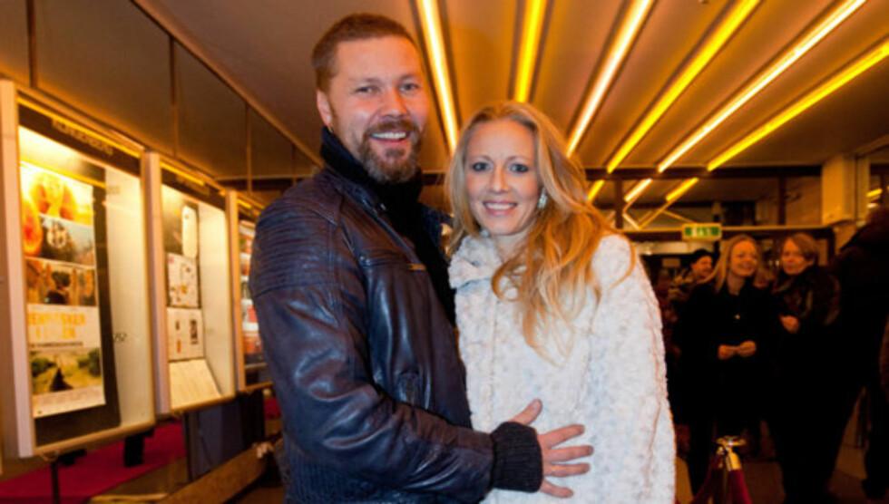 <strong>FORELDRE:</strong> Stig Henrik Hoff og kona Sølje Bergman ble onsdag foreldre til datteren Indie-Lucia. Foto: Stella Pictures
