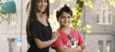 Lillebror Oliver heier på Bianca