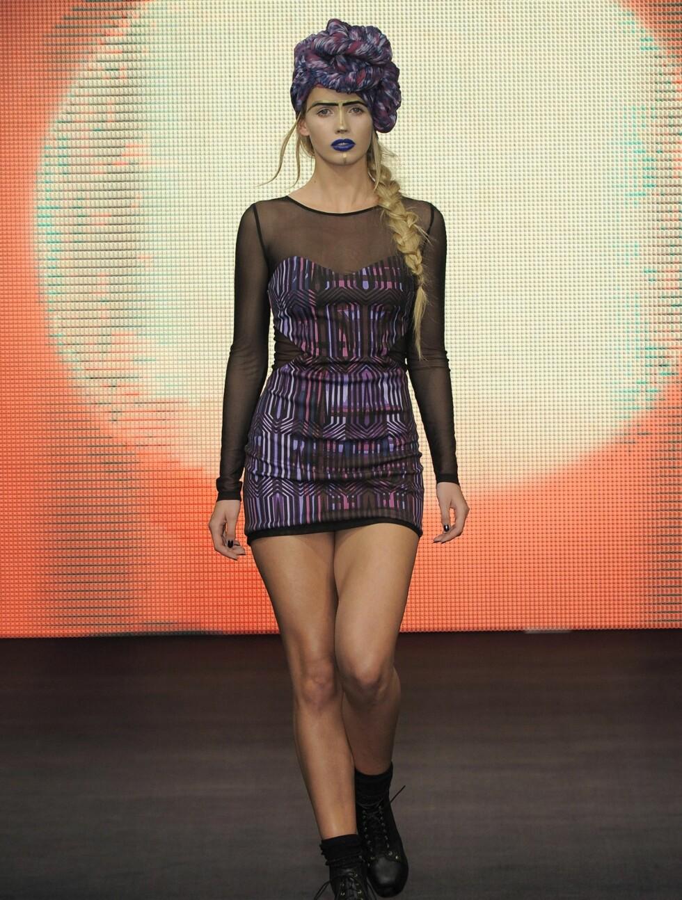 MINIMALT: Denne House of Dereon-kjolen henger  kanskje på vent hos Beyoncé til gravidmagen er borte igjen? Foto: All Over Press