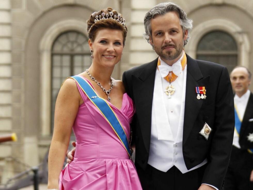 40 ÅR: Torsdag fyller prinsesse Märtha Louise 40 år. Lørdag arrangerer kongeparet privat middag på slottet for å feire den store dagen til sin datter. Foto: Scanpix